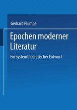Epochen moderner Literatur