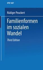 Familienformen im sozialen Wandel
