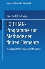 FORTRAN-Programme zur Methode der finiten Elemente