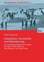 Integration, Normalität und Behinderung