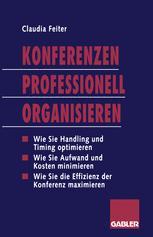 Konferenzen Professionell Organisieren
