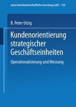 Kundenorientierung strategischer Geschäftseinheiten