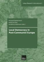 Local Democracy in Post-Communist Europe