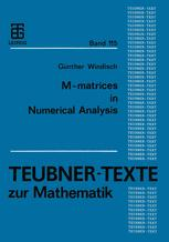M-matrices in Numerical Analysis