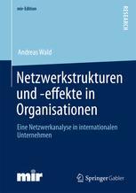 Netzwerkstrukturen und -effekte in Organisationen