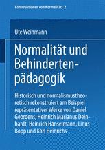 Normalität und Behindertenpädagogik