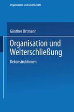 Organisation und Welterschließung