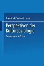 Perspektiven der Kultursoziologie