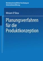 Planungsverfahren für die Produktkonzeption