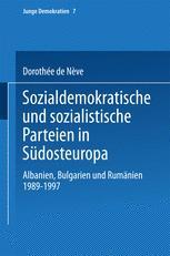 Sozialdemokratische und sozialistische Parteien in Südosteuropa