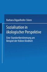 Sozialisation in ökologischer Perspektive