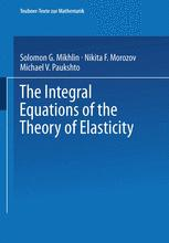 The Integral Equations of the Theory of Elasticity