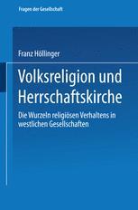 Volksreligion und Herrschaftskirche