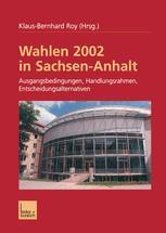 Wahlen 2002 in Sachsen-Anhalt