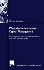 Wertorientiertes Human Capital Management