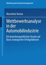 Wettbewerbsanalyse in der Automobilindustrie