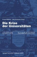 Die Krise der Universitäten