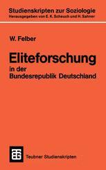 Eliteforschung in der Bundesrepublik Deutschland