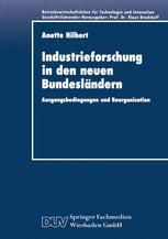 Industrieforschung in den neuen Bundesländern