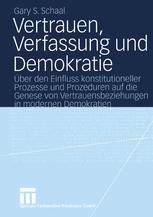 Vertrauen, Verfassung und Demokratie