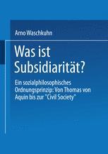 Was ist Subsidiarität?
