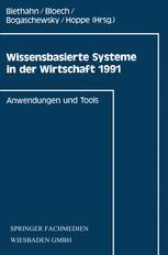 Wissensbasierte Systeme in der Wirtschaft 1991