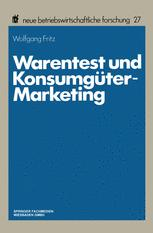 Warentest und Konsumgüter-Marketing