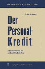 Der Personalkredit