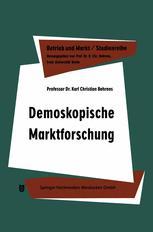 Demoskopische Marktforschung