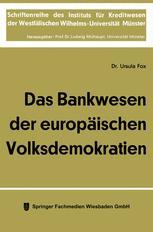 Das Bankwesen der europäischen Volksdemokratien