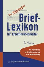 Brief-Lexikon für Kreditsachbearbeiter