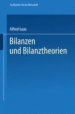 Bilanzen und Bilanztheorien