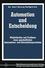 Automation und Entscheidung