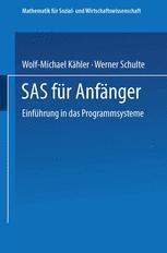SAS für Anfänger