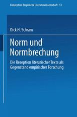 Norm und Normbrechung