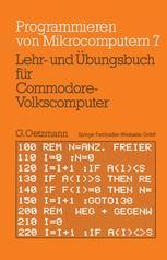 Lehr- und Übungsbuch für Commodore-Volkscomputer