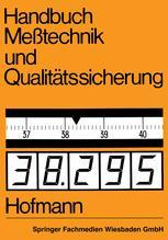 Handbuch Meßtechnik und Qualitätssicherung