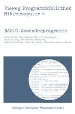 BASIC-Anwenderprogramme