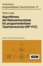 Algorithmen der Netzwerkanalyse für programmierbare Taschenrechner (HP-41C)