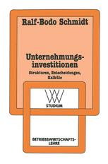 Unternehmungsinvestitionen