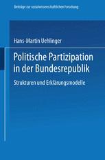 Politische Partizipation in der Bundesrepublik
