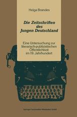 Die Zeitschriften des Jungen Deutschland