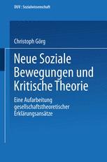 Neue Soziale Bewegungen und Kritische Theorie