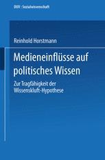 Medieneinflüsse auf politisches Wissen