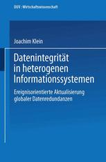 Datenintegrität in heterogenen Informationssystemen