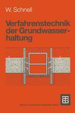 Verfahrenstechnik der Grundwasserhaltung