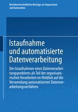 Istaufnahme und automatisierte Datenverarbeitung