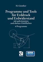 Programme und Tools für Erddruck und Erdwiderstand mit gekrümmten und ebenen Gleitflächen