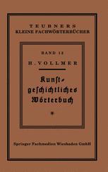 Kunstgeschichtliches Wörterbuch