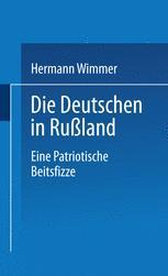Die Deutschen in Rußland